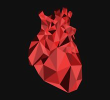 Polygon Heart Unisex T-Shirt