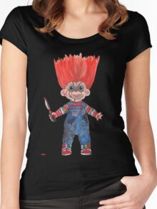Chucky Women's Fitted Scoop T-Shirt