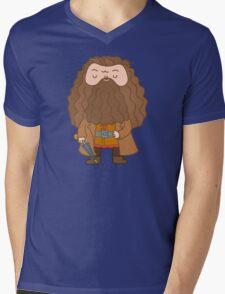 Hagrid Mens V-Neck T-Shirt