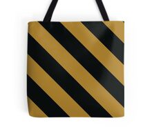 West Lafayette Indiana Black & Gold Team Color Gifts Tote Bag