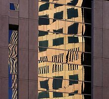 Building reflections - Adelaide South Australia by Bente Andermahr