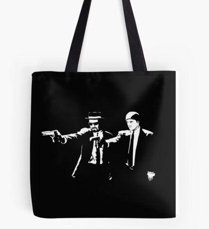 Breaking Bad Pulp Fiction Tote Bag