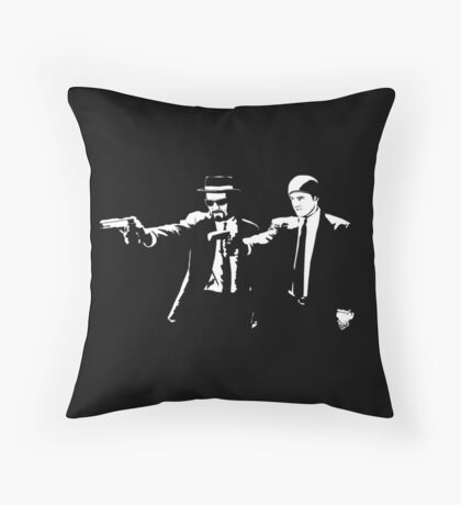 Breaking Bad Pulp Fiction Throw Pillow