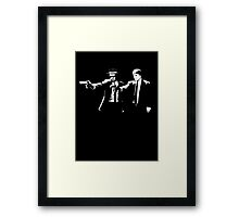 Breaking Bad Pulp Fiction Framed Print
