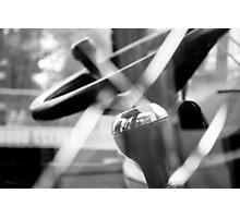 SHATTERPROOF DREAMS (JCB Cab Bokeh) Photographic Print