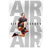 Aaron Gordon - Air Gordon V2, White Poster