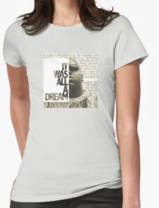 Notorious B.I.G Womens Fitted T-Shirt