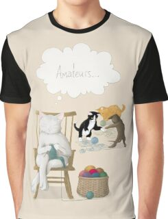 Of Cats and Yarn Graphic T-Shirt