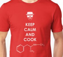 Keep calm and cook Meth - White Unisex T-Shirt