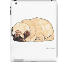 Pugloaf - Sleeping Pug iPad Case/Skin