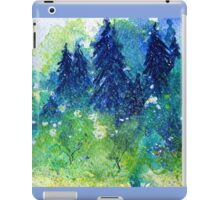 Tree Series - The Pine Trees by Heather Holland iPad Case/Skin