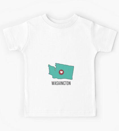 Washington State Heart Kids Tee