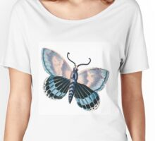 Vintage,reproduction,rustic,butterfly,beautiful,cute,insect, Women's Relaxed Fit T-Shirt