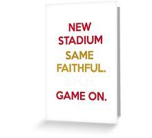 Wear to San Francisco 49ers Levi's Stadium Opening Day! - Kaepernick Willis Greeting Card