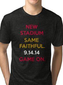 Wear to San Francisco 49ers Levi's Stadium Opening Day! - Kaepernick Willis Tri-blend T-Shirt