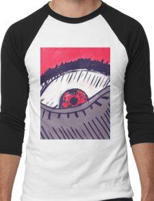 Angry Eye Men's Baseball ¾ T-Shirt