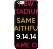 Wear to San Francisco 49ers Levi's Stadium Opening Day! - Kaepernick Willis iPhone Case/Skin