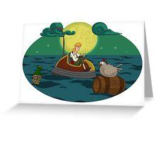 Guybrush Threepwood Greeting Card