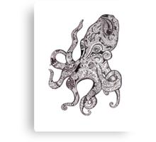 The Octopus Metal Print