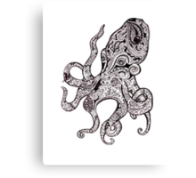 The Octopus Canvas Print