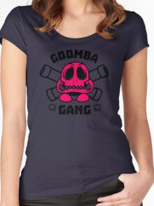 Goomba Gang Women's Fitted Scoop T-Shirt