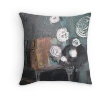melody of an old tango Throw Pillow