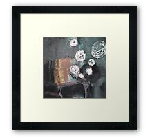 melody of an old tango Framed Print