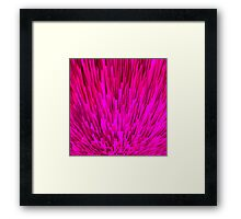 Pink City Nr. 01 Framed Print