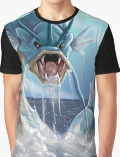 GYARADOS THE GREAT  Graphic T-Shirt