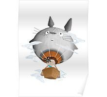 tottoro baloon Poster