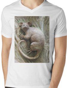 Possum Mens V-Neck T-Shirt