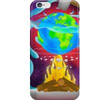 Earth on Fire iPhone Case/Skin