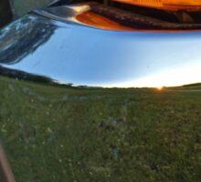 Bumper Crop Reflection Sticker