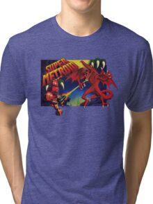 Super Metroid Box Art Tri-blend T-Shirt