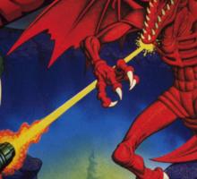 Super Metroid Box Art Sticker