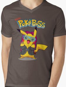 Cute Boss Mens V-Neck T-Shirt