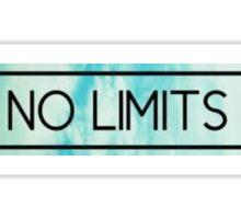 """Tumblr Sticker """"No Limits"""" Sticker"""