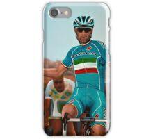 Vincenzo Nibali Painting iPhone Case/Skin
