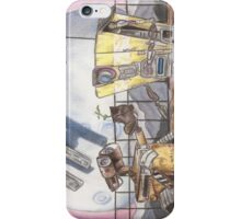 WALL-E & CL4P-TP iPhone Case/Skin