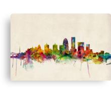 Louisville Kentucky City Skyline Canvas Print