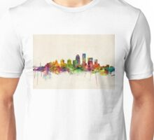 Louisville Kentucky City Skyline Unisex T-Shirt