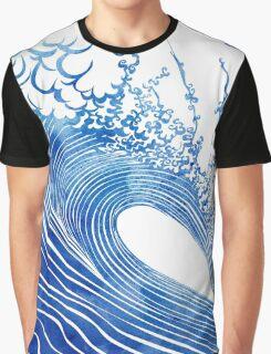 Blue Wave Graphic T-Shirt