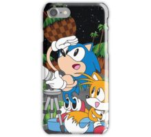 Sonic and Tails  iPhone Case/Skin