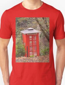 The Big Red Phone Box Unisex T-Shirt