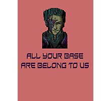 aybabtu all your base are belong to us t shirt Photographic Print