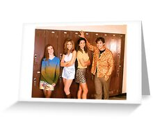 Buffy Season One Cast Greeting Card
