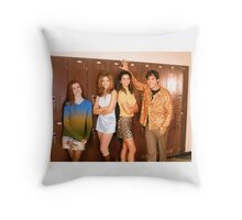 Buffy Season One Cast Throw Pillow