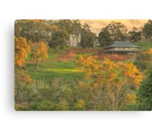 Autumn on the Hill, Bridgetown, WA Canvas Print