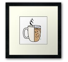 Hot Coffee | Iced Coffee Framed Print