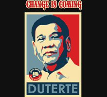 DUTERTE THE CHANGE IS COMING Classic T-Shirt